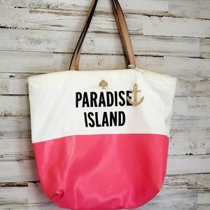 Kate Spade vacation tote purse